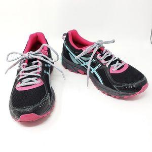Asics Gel Sonoma 2 Black Pink Running Shoes Sz 9